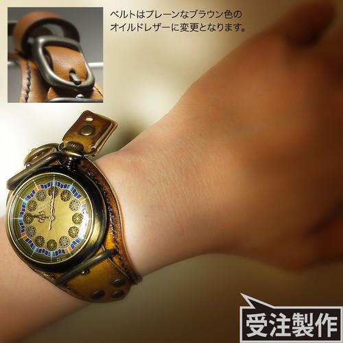 腕時計「ローズ・ド・サハラ」TYPE-09 / METALLIC OCHER