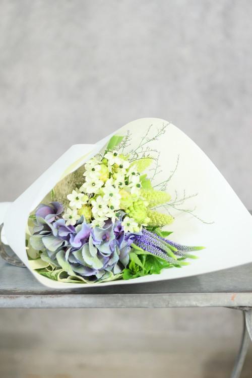 爽やかな花束