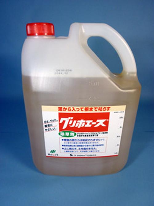【送料無料/税込】 1ケース(5L × 3本)グリホエース 除草剤