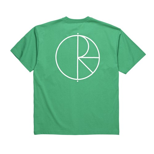 POLAR SKATE CO.  Stroke Logo Tee Green L ポーラー Tシャツ