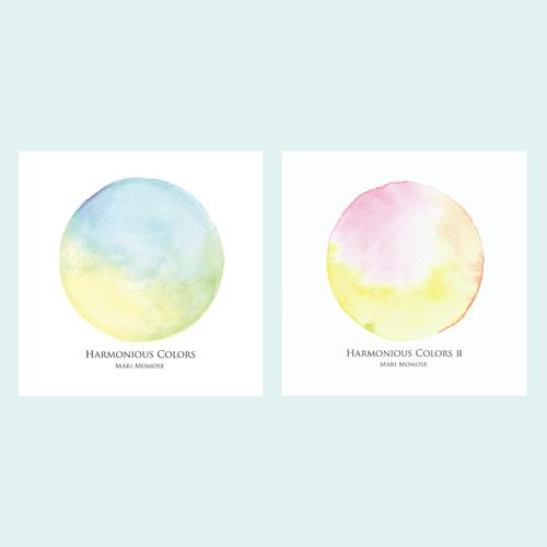 2枚セット Harmonious Colors I・II - ヒーリングジャズ・室内楽アルバム - 桃瀬茉莉