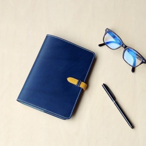 A6サイズ 組み合わせ自由 差し込みフラップ イタリアンレザーブッテーロの手帳カバー