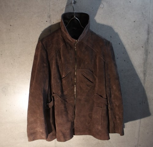 Swede Leather Blouson