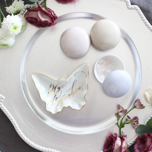 """accessory tray """"Butterfly""""(Black)"""