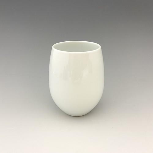 【中尾純】白磁ワイングラス