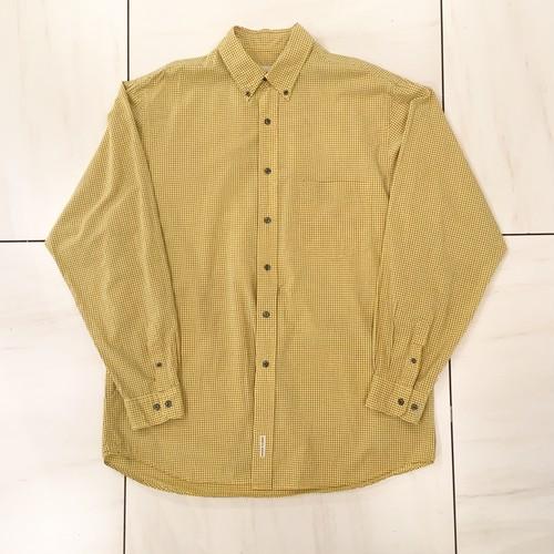 デザインチェクシャツ