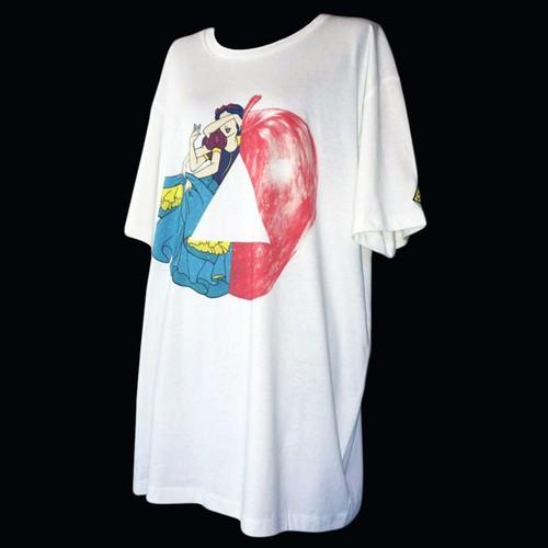 """Snow-White"" printed T-shirts"
