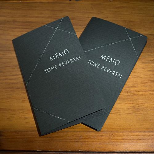 TONE REVERSAL MEMO 2冊