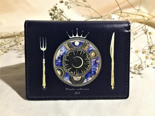 【黒】宙料理 カードケース