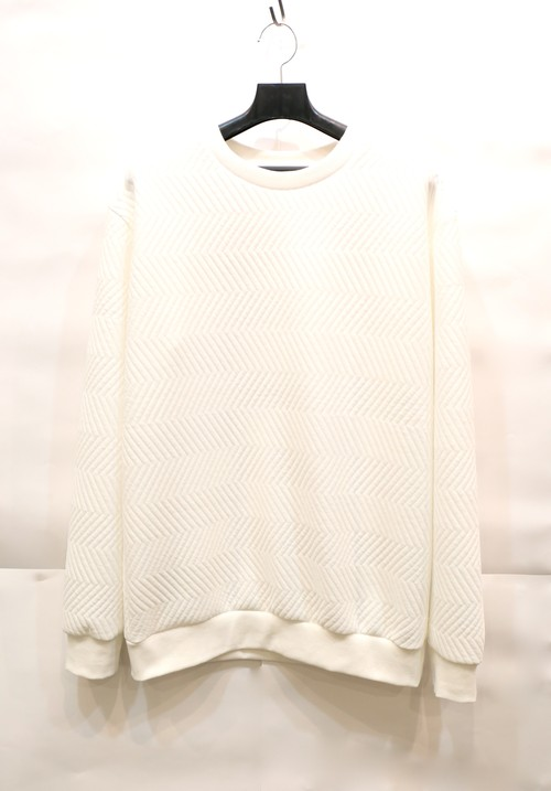 【UNISEX】White Sweat