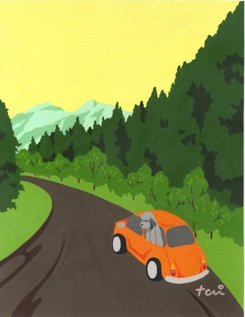 Holiday drive休日のドライブ