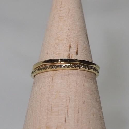 『ますボコ×12角さん』Brass(真鍮)製 オリジナルリングセット