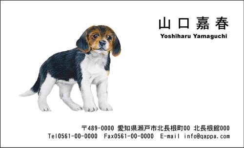 イラスト入り名刺5016 (100枚)