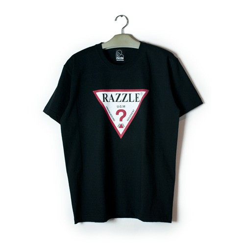 RAZZLE / THINK SS TEE / BLACK