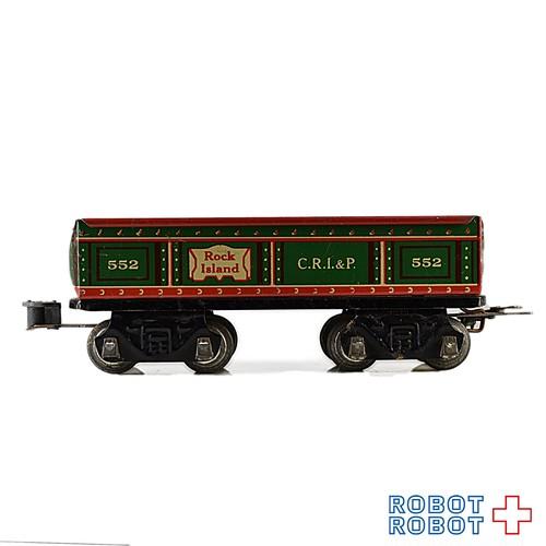 MARX ブリキ トレイン Oゲージ 貨車 ロックアイランド552 C.R.I.&P. A