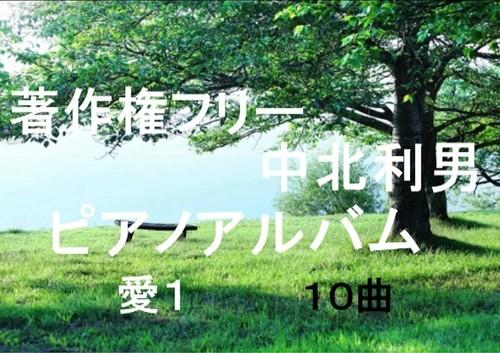 中北利男 ピアノアルバム 愛1