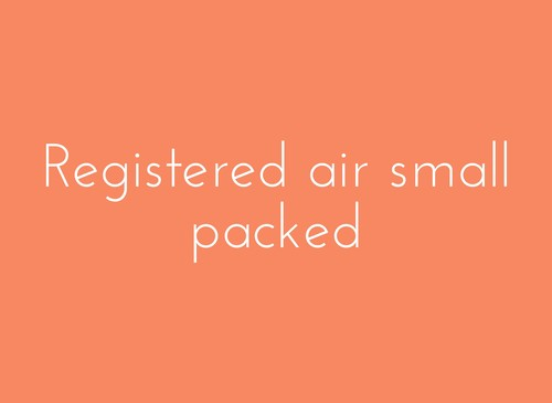 Registered air small packed