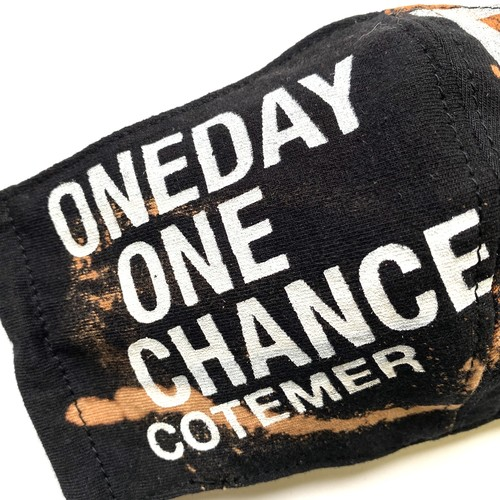 【COTEMER マスク 日本製】ONE DAY ONE CHANCE BLEACH MASK ob02