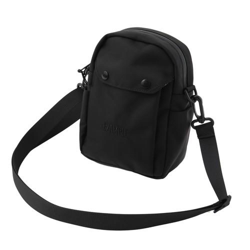 EXAMPLE 1050D CORDURA FABRIC SHOULDER BAG / BLACK