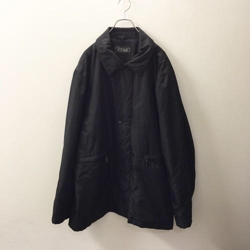 VITALI オーバーサイズコート size XL ブラック色 メンズ古着