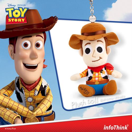 InfoThink Bluetoothスピーカー Disney トイストーリー ぬいぐるみスピーカー ウッディ BSP600(Woody)
