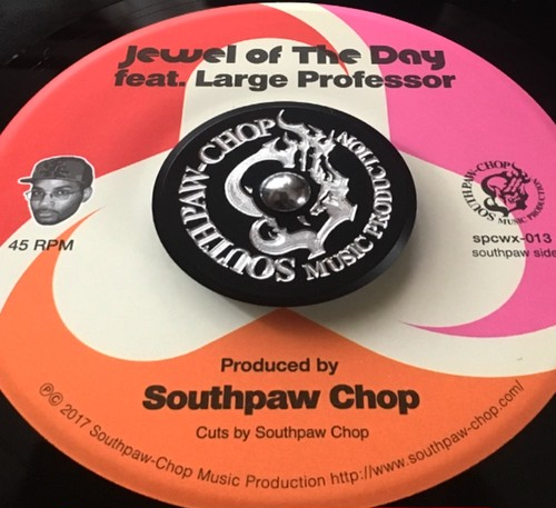 Southpaw Chop Music Pro Original 45 Adapter (BLACK)