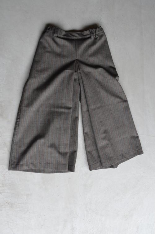 HAKAMA-LIKE-WIDE-PANTS(ハカマライクワイドパンツ グレー)