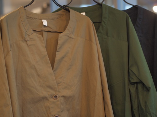 【LUEUF】30s COMBED COTTON COAT
