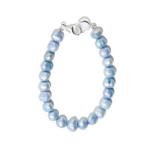 SPARKING Potato Pearl Bracelet BLUE