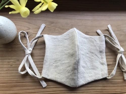 ヘンプ平織マスク