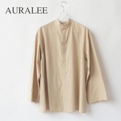 AURALEE/オーラリー ・WASHED FINX TWILL KAFTAN SHIRTS