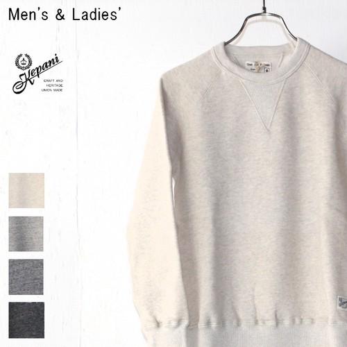 Kepani スウェットクルー Harris-Ⅱ TS8301MS (OATMEAL) 【Men's / Ladies'】