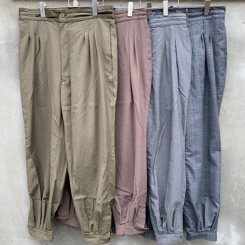 """HOMELESS TAILOR  """"CUFF PANTS"""""""