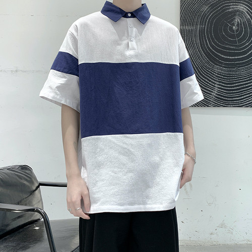 バイカラーポロシャツ BL6289