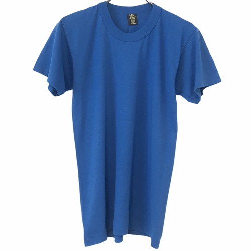 Dead Stock! 80's Tee Swing T-shirt made in USA  Blue