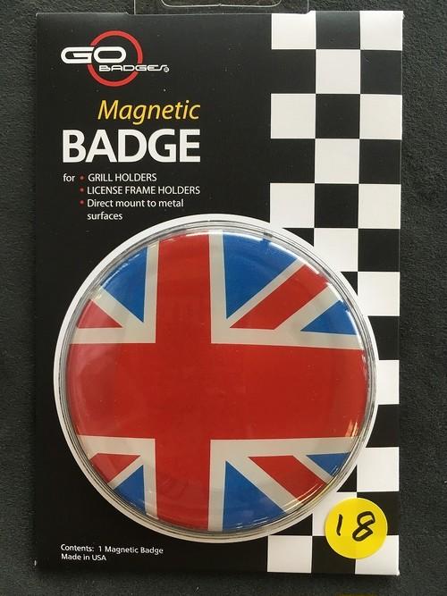 18番 ゴーバッジ FLAG UK HERITAGE