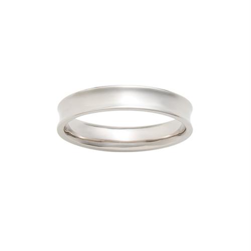 [約1ヶ月でお届け]ユニセックス 3.3mm幅 プラチナ 結婚指輪 OCTAVE∞Bonheur~幸福~「かけがえのない毎日 溢れてくる ありがとう」
