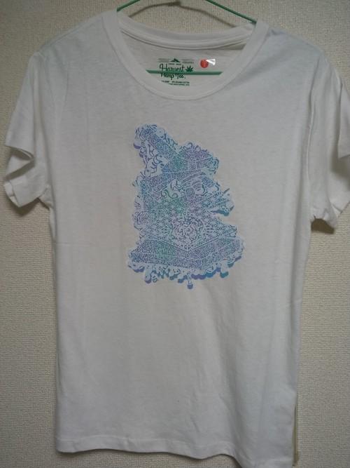 Hentai microscope ヘンプTシャツ Sサイズ DMTV ヘンタイワークス