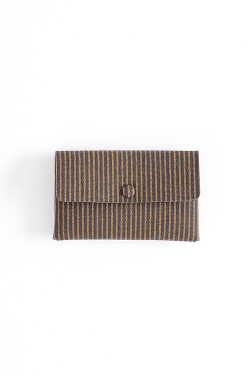 Card case / Y. & SONS×Aeta / 1Layer / 遠州綿紬