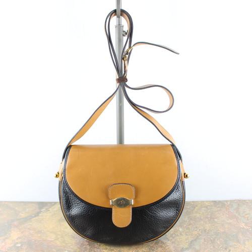 .Christian Dior LOGO LEATHER SHOULDER BAG MADE IN FRANCE/クリスチャンディオールレザーショルダーバッグ 2000000047706