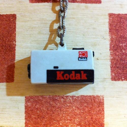 アメリカ コダック広告ノベルティ ムービーカメラ型 ヴィンテージ キーホルダー