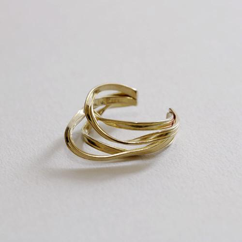 ribbon ring A (brass)