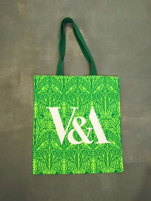 V&A  All over pattern tote bag [B-367]