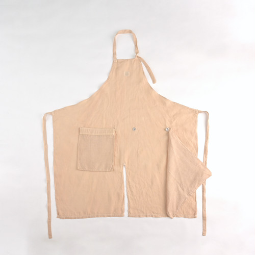Packable Apron / ROSEHIP(french linen)