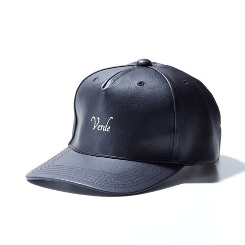 VERDE Pu Leather Aroma Cap BLACK