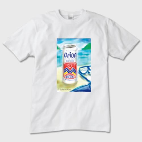 Orion Beer メンズTシャツ 白