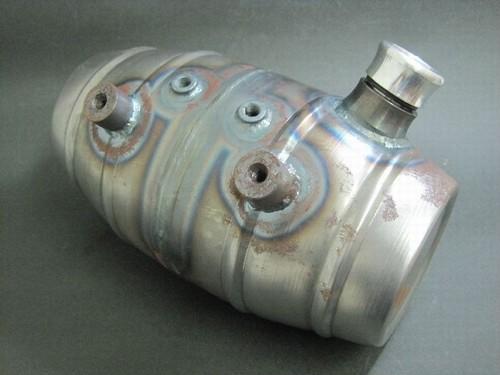 Beer barrel shape オイルタンク