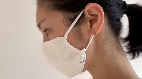 寄付金あり【OneLuck×Suadeo】洗える和紙 消臭マスク