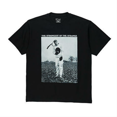 POLAR SKATE CO. STRONGEST OF THE STRANGE TEE BLK ポーラー Tシャツ