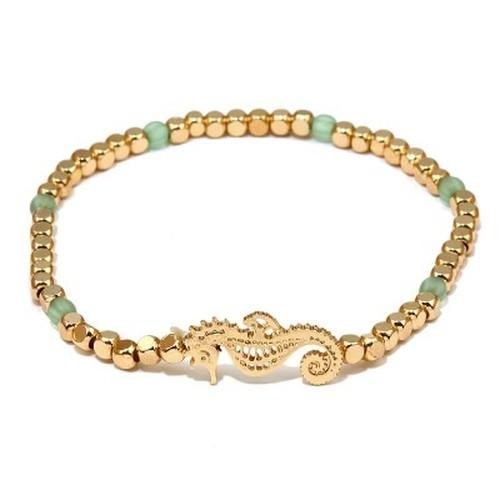 Metal Beads SEAHORSE Bracelet (EB2064)